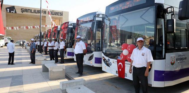 Şanlıurfa'ya 62 adet Temsa otobüs teslim edildi