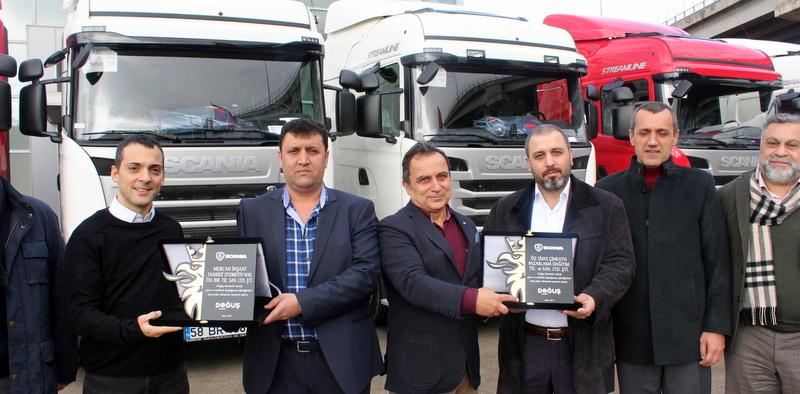 Scania, 2 firmaya 17 adet çekici teslim etti