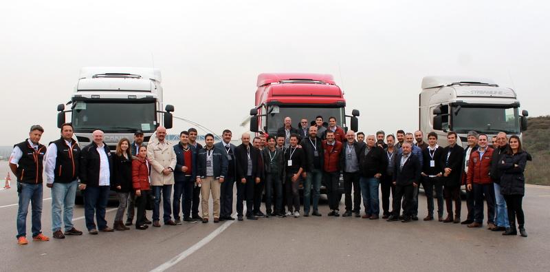 Scania, 79 sigorta eksperiyle buluştu