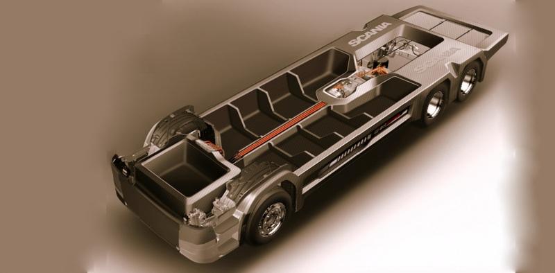 Scania, araçların ağırlığını yüzde 40 hafifletecek!