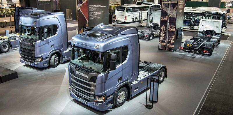 Scania, IAA'da yeni modellerini sergiledi