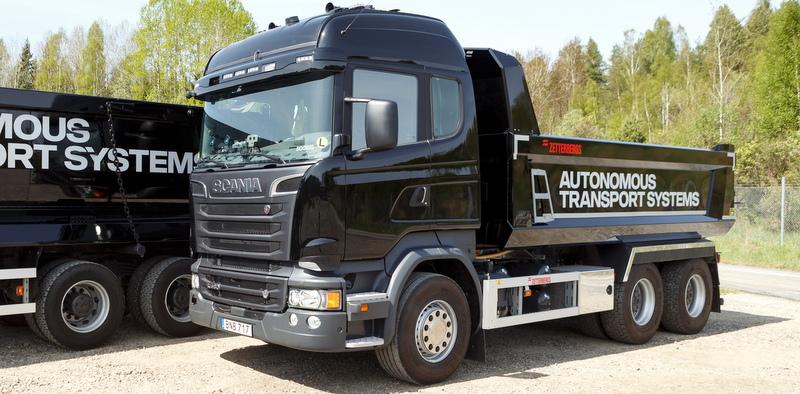 Scania otonom araçlar sürücülerin gözbebeklerini okuyacak!