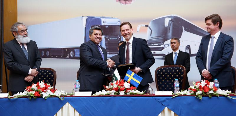 Scania, Pakistan pazarına girdi