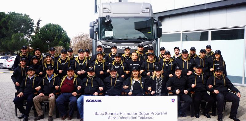 Scania Servis Yöneticileri Bir Araya Geldi