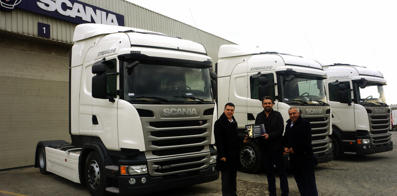 """""""Scania zaman kazandıyor"""" dedi, filosunu yeni Scania""""larla güçlendirdi"""