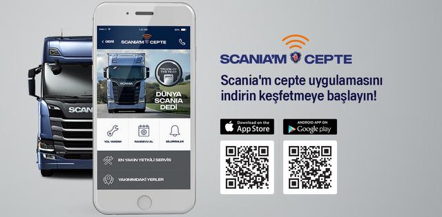 """Scania'dan """"Scania'm Cepte"""" Uygulaması"""