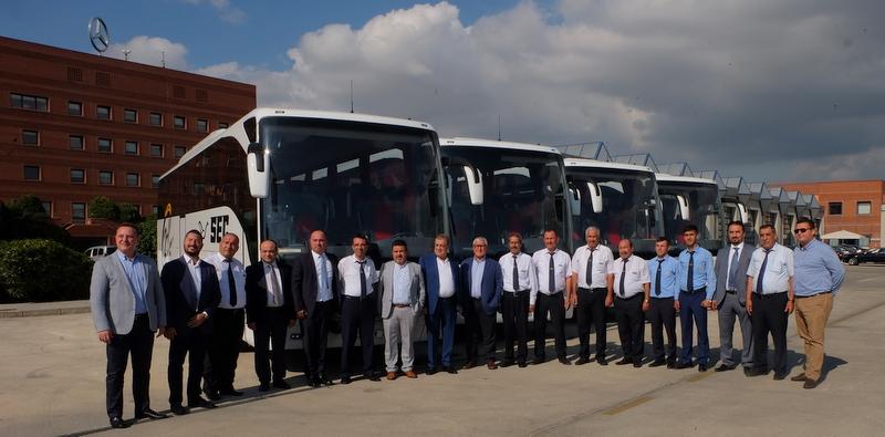 Seç Turizm 4 adet Tourismo teslim aldı, filosundaki otobüs sayısını 53'e yükseltti