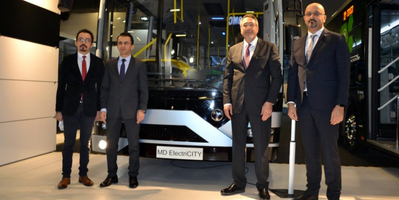 Şehiriçine yönelik 4 aracını tanıttı, 'Akıllı Ulaşım Teknolojileri' ile öne çıktı