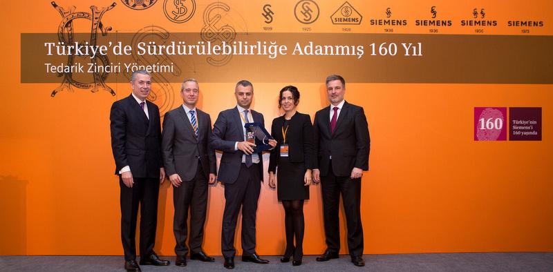 Siemens Türkiye, Yılın Tedarikçisi'ni seçti