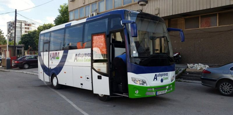 Sırbistan'da 200'den fazla otobüsü bulunan Temsa, büyümesini sürdürüyor