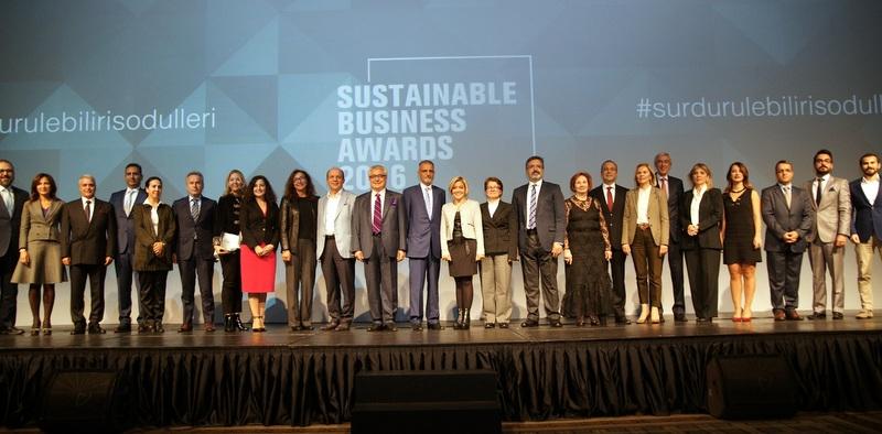Sürdürülebilir İş Ödülleri Sahiplerini Buldu