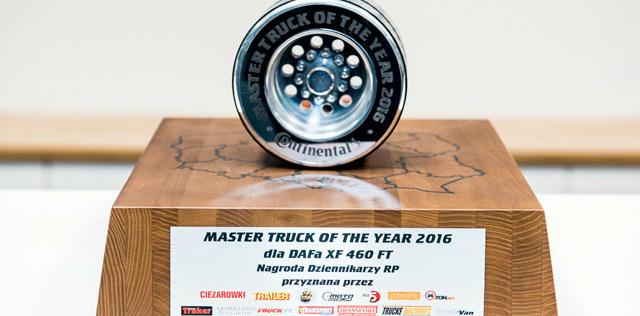 """""""Sürücü dostu kamyon"""" ödülünün sahibi oldu"""
