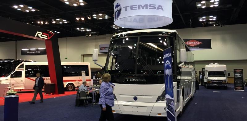 TEMSA, ABD'de TS 35E otobüsünü tanıttı