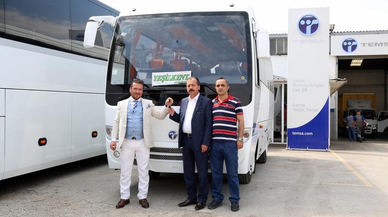 Temsa Bursalı firmalara 8 otobüs teslim etti