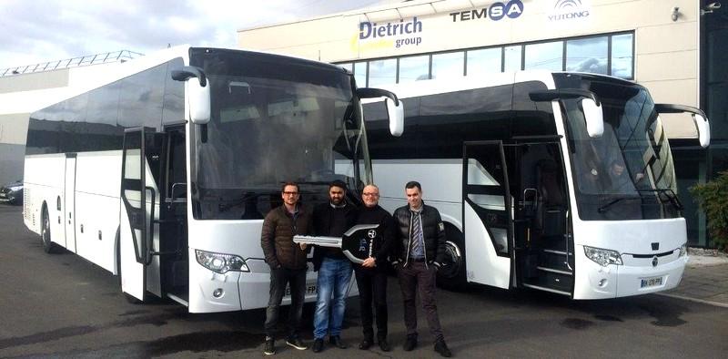 TEMSA, Fransa'ya 4 ayda 70 otobüs sattı