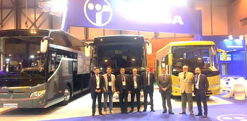 TEMSA, Madrid Otobüs ve Ticari Araç Fuarı'na katıldı