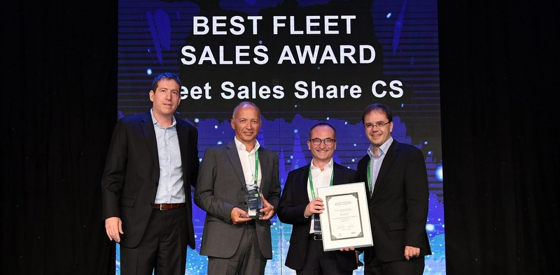 """Temsa Motorlu Araçlar'a """"En İyi Filo Satış Ödülü"""""""