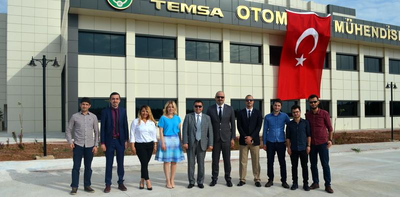 TEMSA Otomotiv Mühendisliği ve Laboratuvarı Açıldı