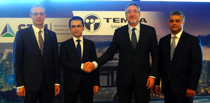 TEMSA ve STM akıllı araçlar için işbirliği anlaşması yaptı