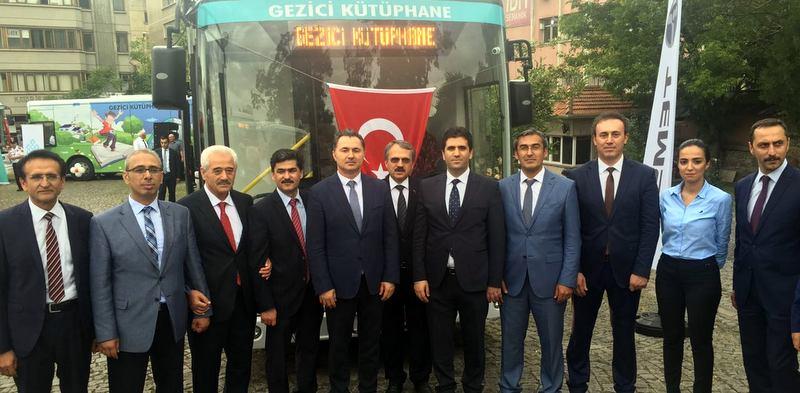 TEMSA'dan 10 gezici kütüphane otobüsü aldı
