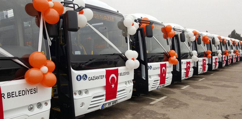 Temsa'dan Gaziantep'e 30 adet Prestij City