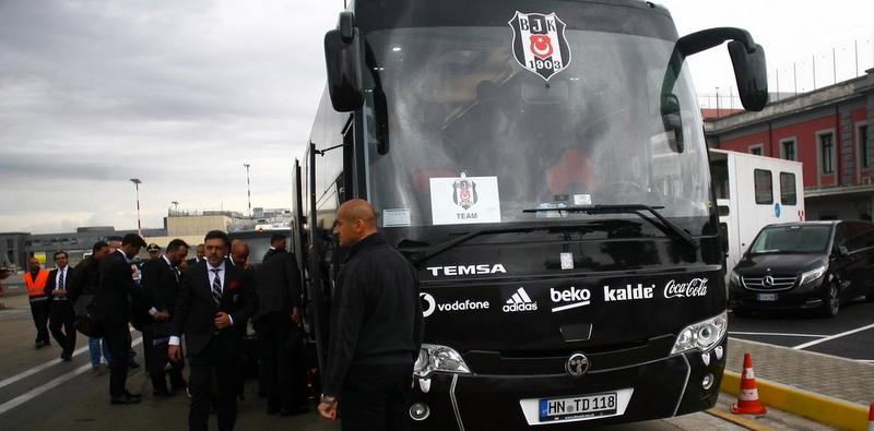 Temsa'dan Napoli maçında Beşiktaş'a destek!