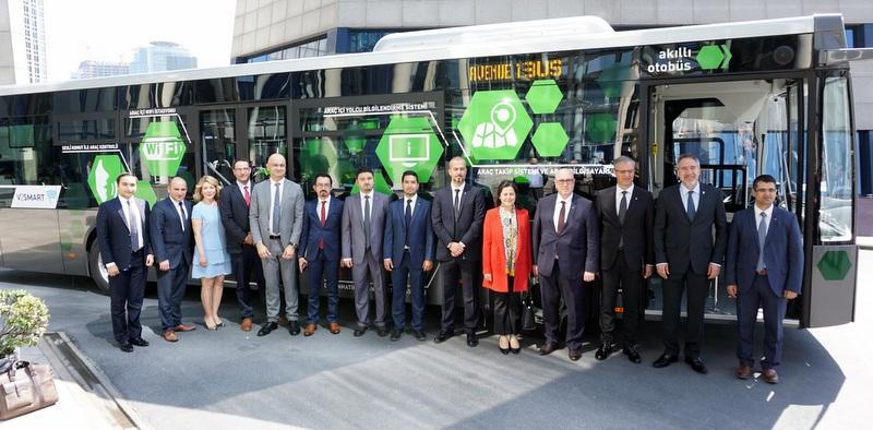Temsa'nın akıllı otobüsü Avenue IBUS şimdi daha akıllı!