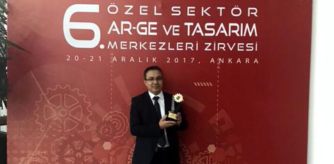 Tırsan'a En İyi Ar-Ge Ödülü
