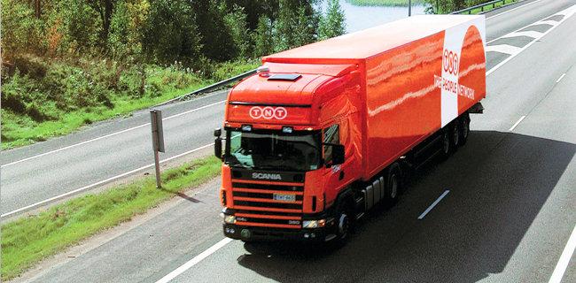 TNT, Avrupa'ya ekspres TIR seferlerine başladı