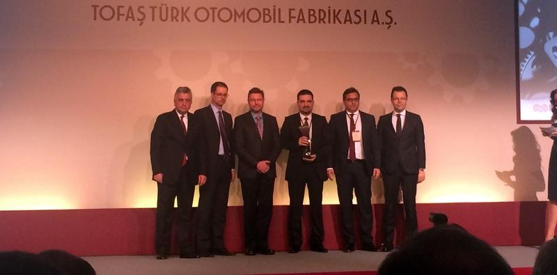 Tofaş'tan Ekol Lojistik'e Ödül!