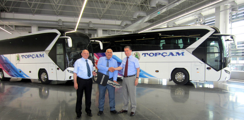 Topçam filosunu Yeni Neoplan Tourliner ile güçlendirdi