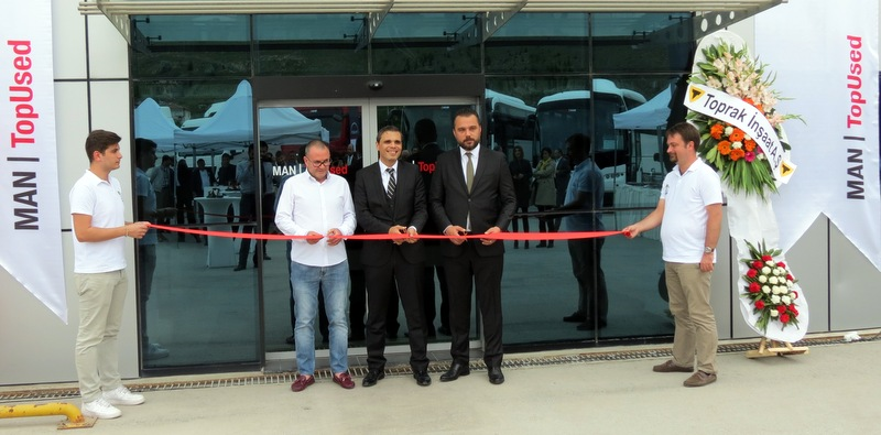TopUsed MAN Türkiye'deki 6. merkezini Mamak'ta açtı