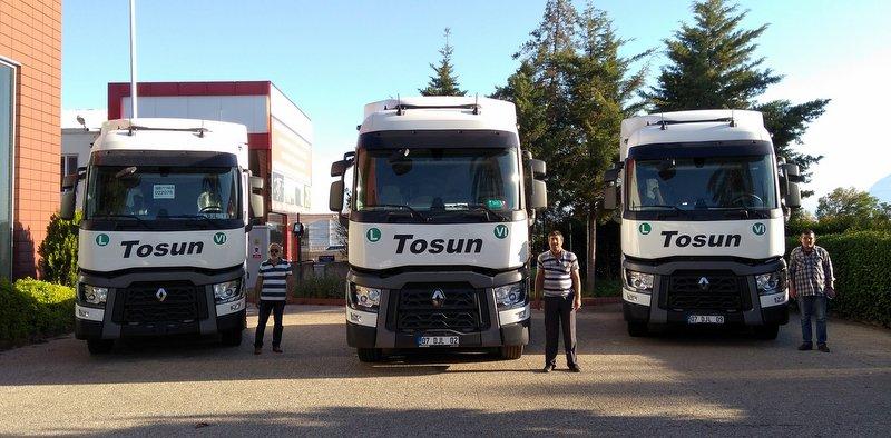 Tosun Ticaret, filosuna 10 adet Renault Trucks kattı