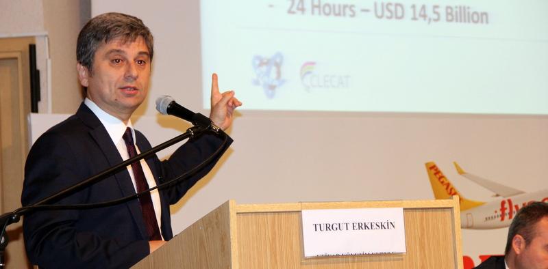 """Turgut Erkeskin: """"Lojistik hizmet ihracatında bir numaralı sektör haline gelecek"""""""
