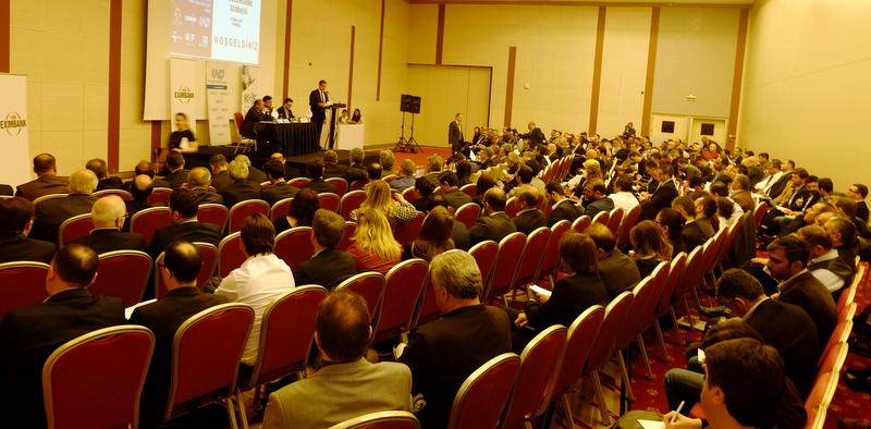 Türk Eximbank ve KGF'nin kredi bilgilendirme toplantısına nakliyeciler yoğun ilgi gösterdi