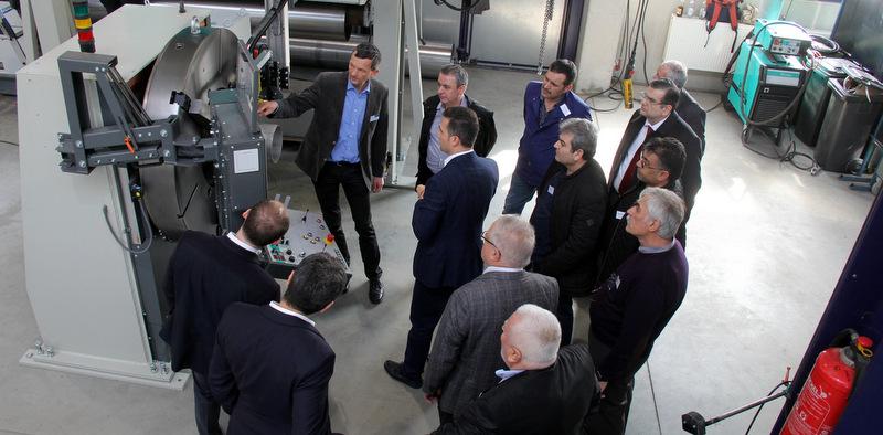 Türk treylerciler Alman teknolojisini yerinde inceledi
