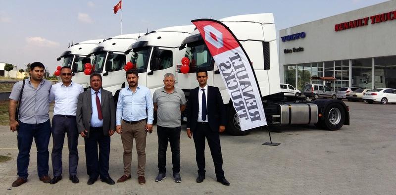 Türkiye'de ilki gerçekleştiren firma filosunu Euro 6 çekiciler ile güçlendirdi