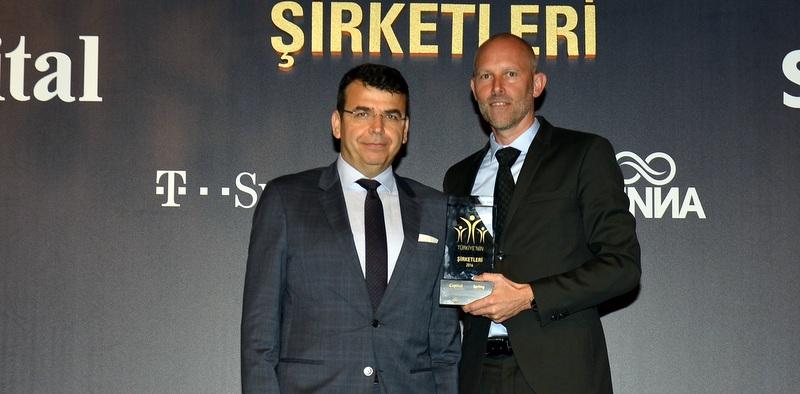 """Türkiye'nin """"En Beğenilen Kargo, Nakliye ve Lojistik Şirketi""""  seçildi"""