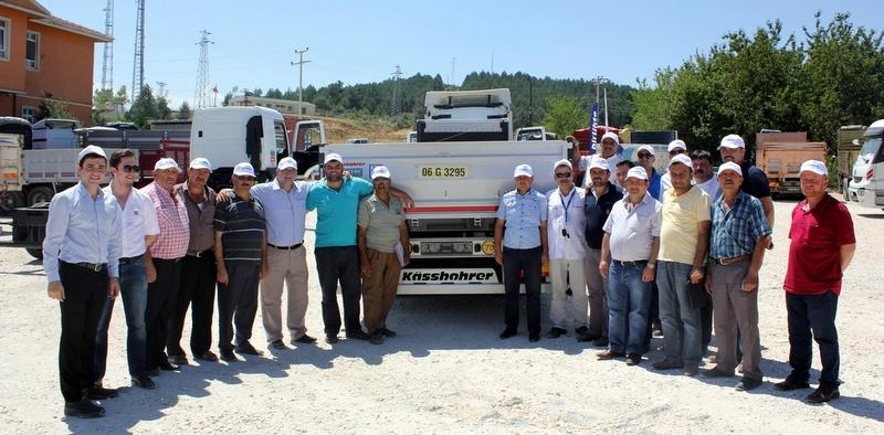 Türkiye'nin en çok satan açık kasa treyleri Kastamonulu taşımacılarla buluştu