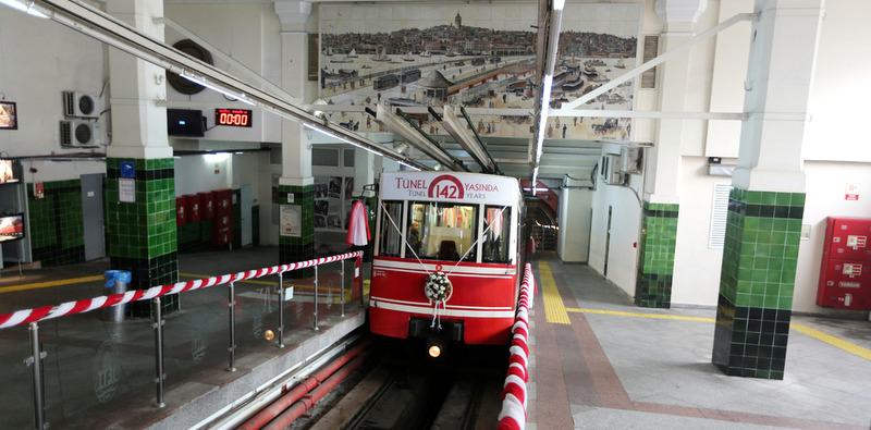 Türkiye'nin İlk Metrosu Tünel 142 Yaşında…