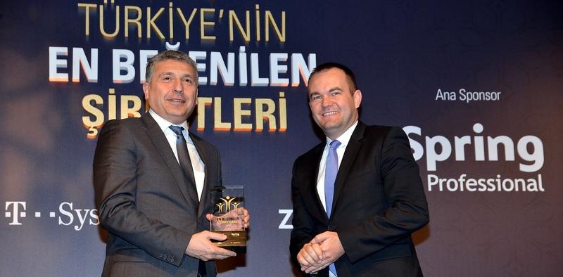 """""""Türkiye'nin Otomotiv Sektöründe En Beğenilen Şirketi"""" seçildi"""