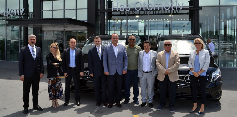 Ülger Turizm, filosuna 16 adet Mercedes-Benz Vito Tourer kattı