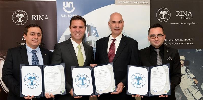 UN Ro-Ro Pendik Limanı çevre ve iş sağlığı sertifikalarını aldı