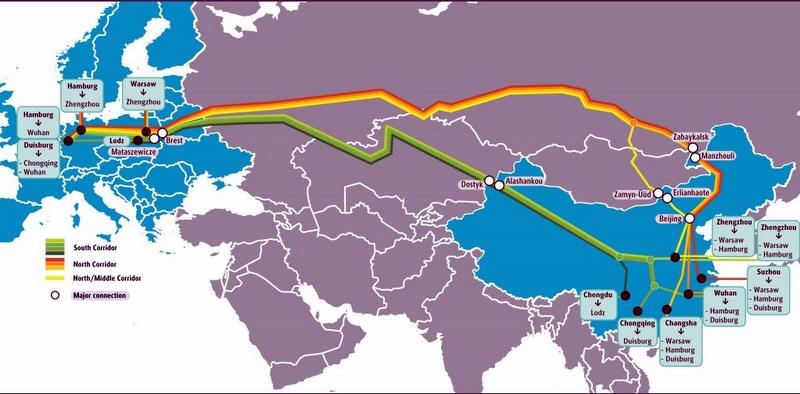 UPS, Çin-Avrupa Tren Yolu Hizmetini Genişletiyor