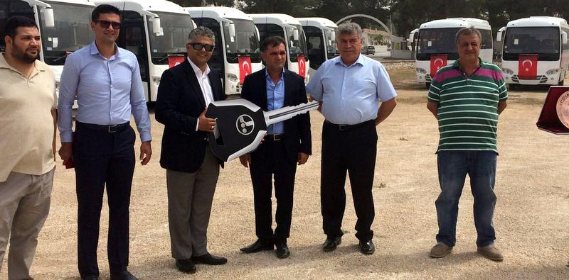 Urfa'ya 25 adet Temsa Prestij SX teslim etti