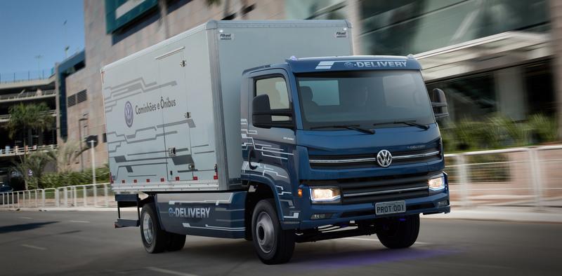 Volkswagen tamamen elektrikli e-Delivery kamyonu için Allison otomatik şanzımanları kullanacak