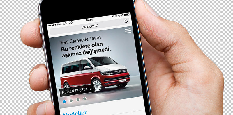 Volkswagen Ticari Araç'tan Yeni Mobil Site!