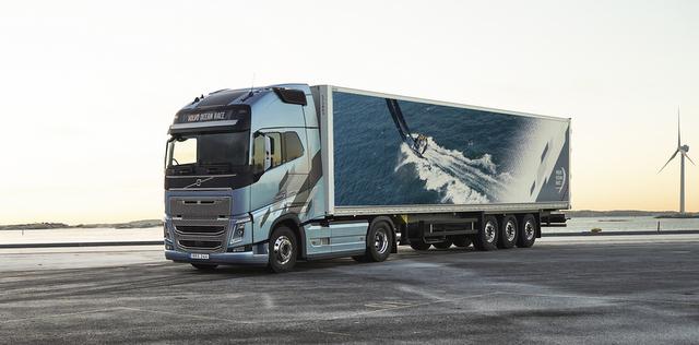Volvo, Dünyanın En Zor Yelken Yarışından Esinlendi ve Özel Seri FH ve FH16 Üretti