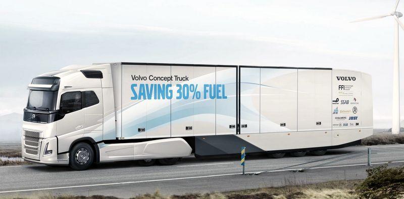 """Volvo Trucks ve Continental """"Konsept Kamyon""""da işbirliği yaptı"""