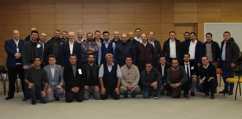 WhatsApp'ta organize olan lojistikçiler ilk toplantısını gerçekleştirdi
